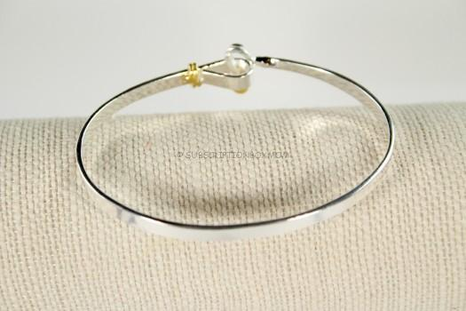 Sterling Forever Hook and Eye Bracelet