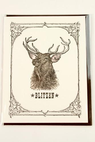 Blitzen Card