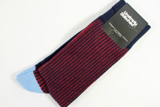 Unsimply Stitched Herringbone Socks