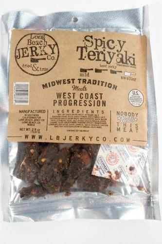 Long Beach Jerky Company Spicy Teriyaki