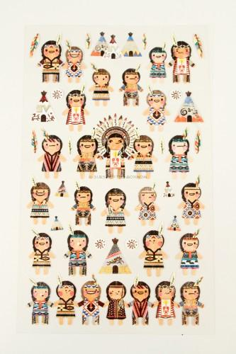 Native American Stickers