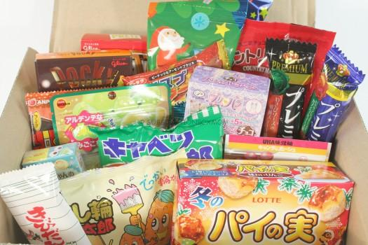 Okashi Connection Sumo Box December 2015 Review