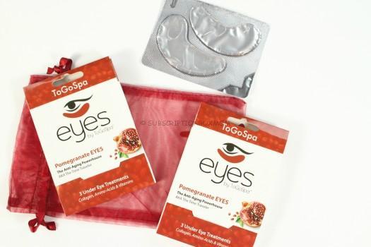 Eyes by ToGoSpa: Pomegranate EYES