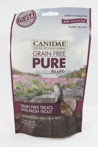 Canidae Grain Free Pure Taste - Grain Free Treats with Fresh Trout