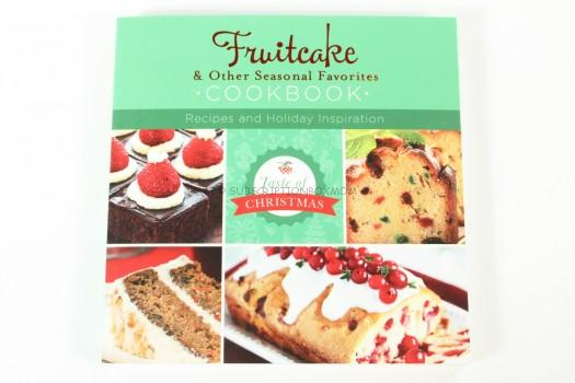 Fruitcake and Other Seasonal Favorites Cookbook: Recipes and Holiday Inspiration (Taste of Christmas)