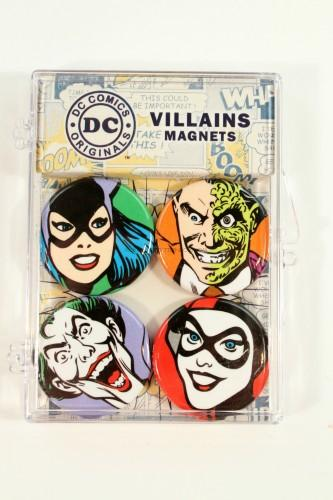 DC Comics Villains Magnets