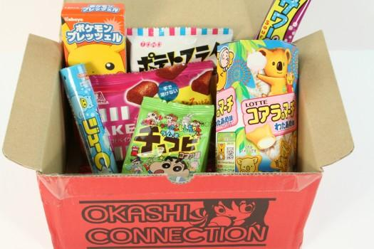 Okashi Connection Ninja Box December 2015 Review