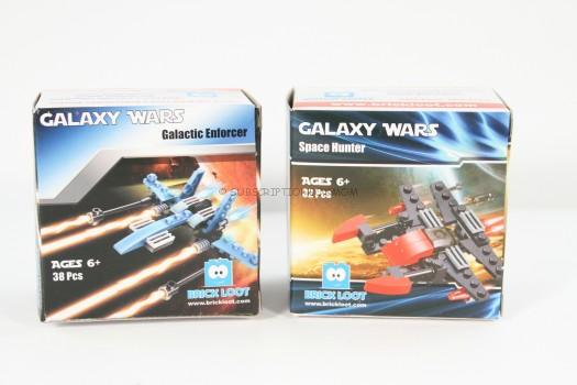 Galaxy Wars Galactic Enforcer and Space Hunter