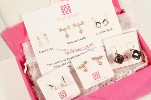 Bloom Box December 2015 Review