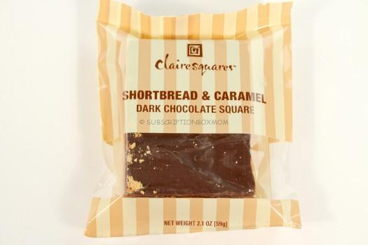 Clairesquares Shortbread & Caramel Dark Chocolate Square
