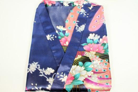 Kimono Syle Peacock Robe