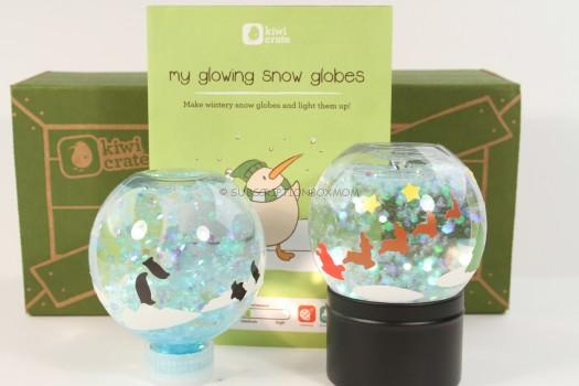 Kiwi Crate My Glowing Snow Globes Review