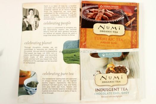 BONUS ITEM: Numi Tea