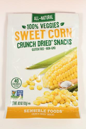 Sensible Foods Sweet Corn Crunch Dried Snacks