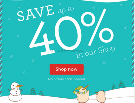 Kiwi Crate Boxing Day Sale 2015 + Huge Coupons