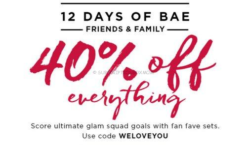 Julep 12 Days of BAE Friends & Family Sale