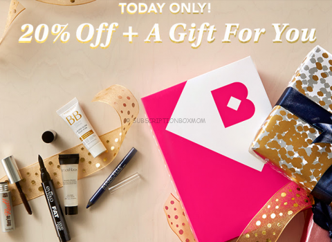 Birchbox 20% Off + Free Gift - Today Only