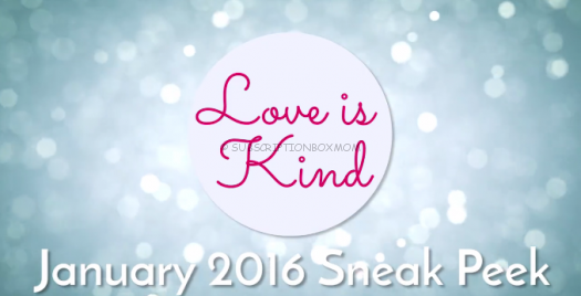 Love with Food January 2016 Spoilers