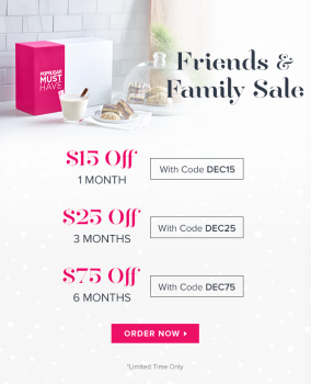 POPSUGAR Must Have Box December 2015 Coupon Codes
