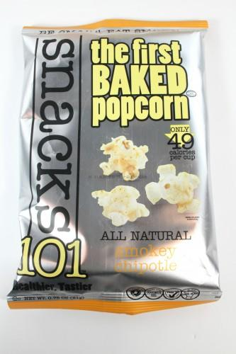 Snacks 101 Smokey BBQ Popcorn
