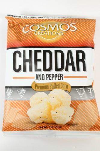 Cosmos Creations Cheddar Puffed Corn