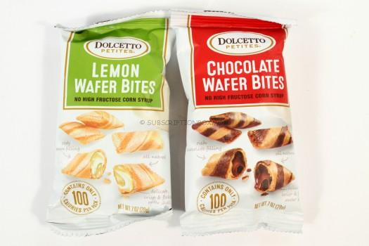 Dolcetto Chocolate and Lemon Wafer Bites