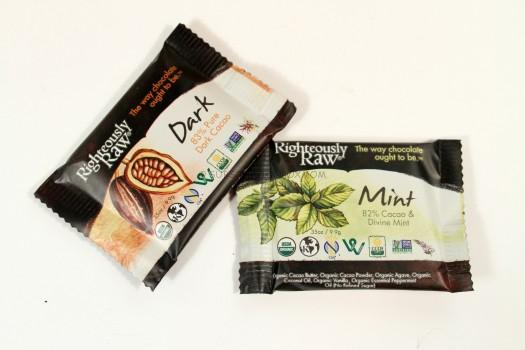 Righteously Raw Dark Mint Cacao and Dark Cocao