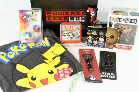 Powered Geek Box December 2015 Review