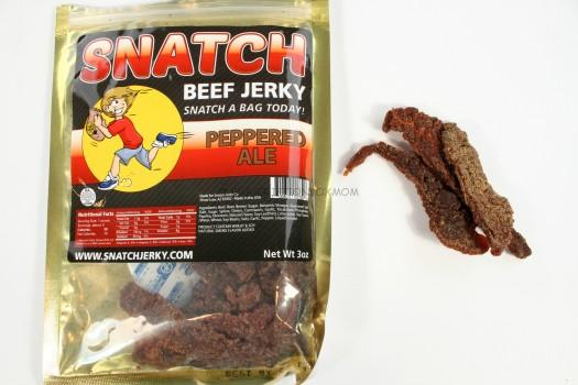 SNATCH Jerky Peppered Ale