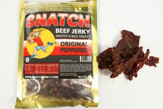 SNATCH Jerky Original Peppered