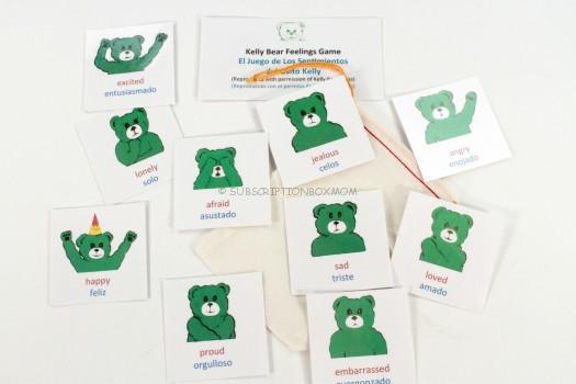 Kelly Bear Emotion Cards