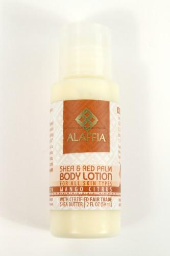 Alaffia Shea & Red Palm Body Lotion in Mango Citrus
