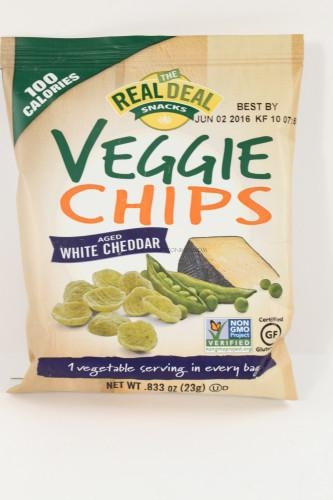Real Deal White Cheddar Veggie Chips