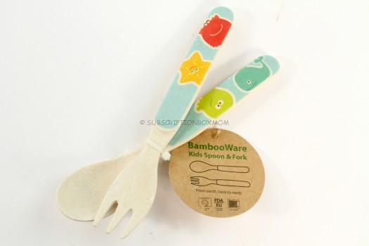 Bamboo Kids Spoon and Fork