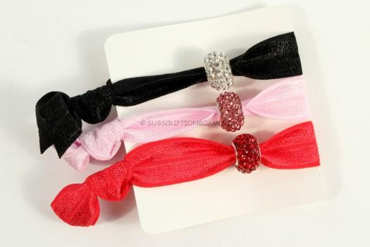 Crystal Ball Hair Ties