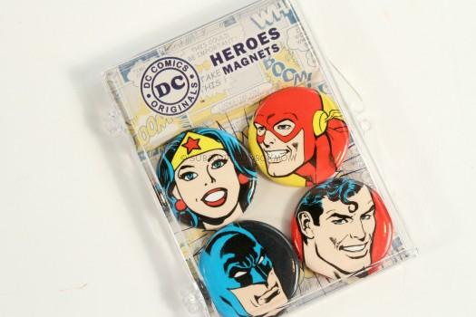 DC Comics Heroes Magnets