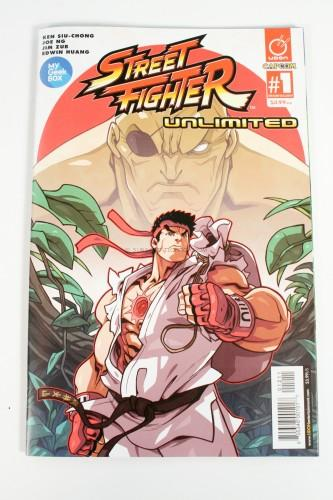 Street Fighter Unlimited Comic #1