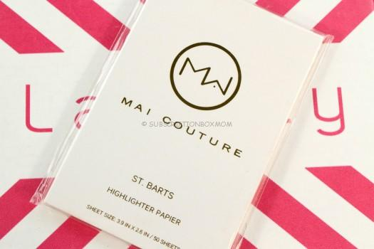 Highlighting Papiers from Mai Couture