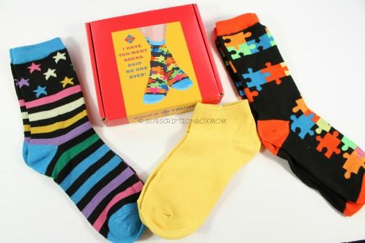 Sock Trunk January 2016 Review