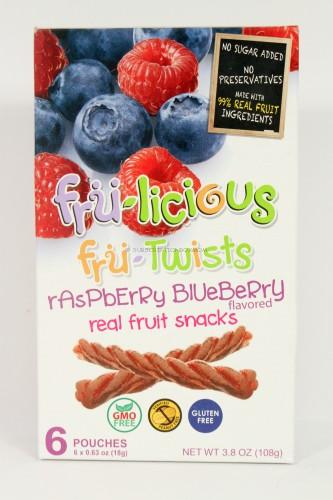Fru-Licious Fru-Twists - Raspberry Blueberry