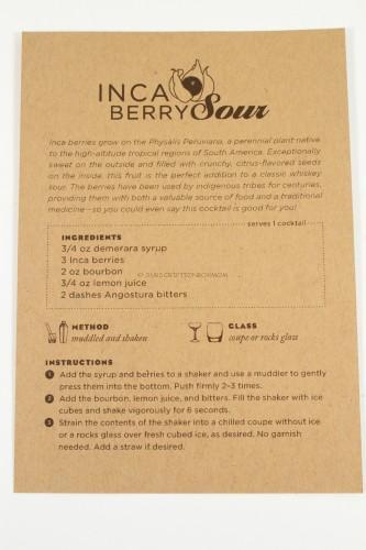 Inca Berry Sour: