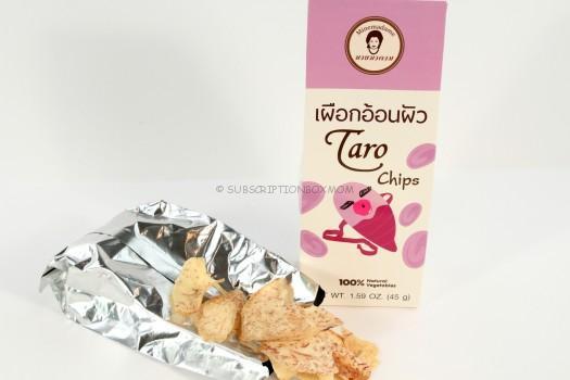 Minemadame Taro Chips