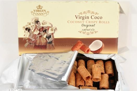 Virgin Coco Coconut Crispy Rolls