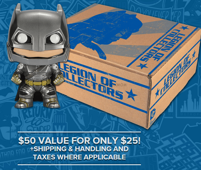 Legion of Collectors Subscription Box Available