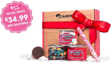 Candy Club Valentine's Day Limited Edition 2016