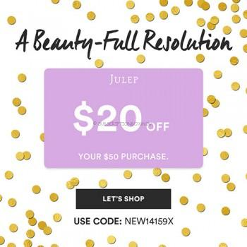 Julep $20.00 Coupon + Free Box with 3 Month Subscription