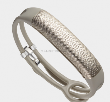 Jawbone UP2 fitness tracker.