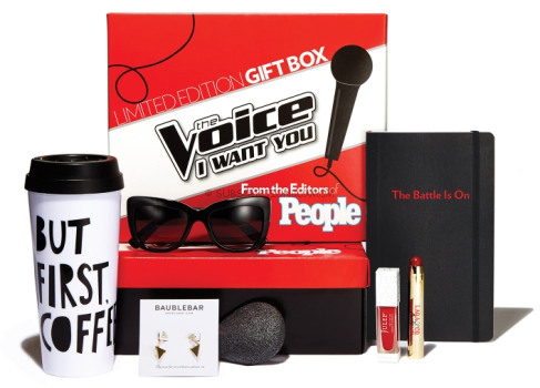 PEOPLE Magazine The Voice Gift Box Discounted