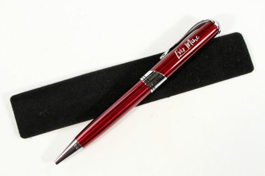 Ever Mine Red Metallic Executive Pen