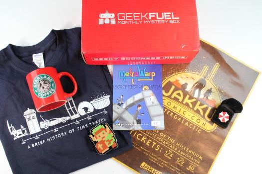 Geek Fuel January 2016 Review